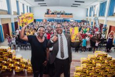 Shimza Gives Back Donates 3000 Pairs Of School Shoes To Those In Need