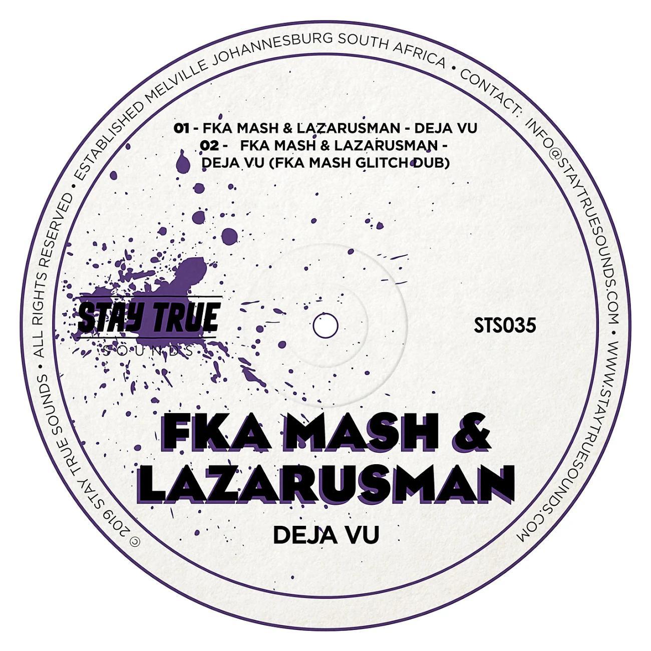 Fka Mash & Lazarusman - De Javu (Fka Mash Glitch Dub), deep house music, deephouse, deep house sounds, sa deep house songs