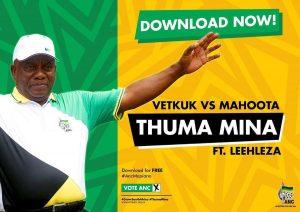Vetkuk vs Mahoota - Thuma Mina (feat. Leehleza), amapiano, south african anc, new amapiano songs