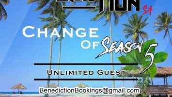 Benediction SA - Change Of Season 5 (Unlimited Guest)