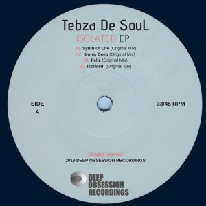 Tebza De SouL - Ironic Deep (Original Mix), new deep house, deep house sounds, afro deep house, deep house 2019, house music download, sa deep house