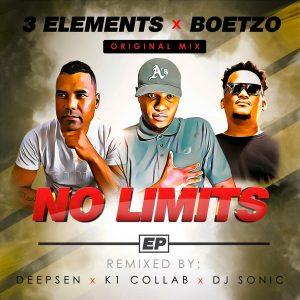 3Elements & Boetzo - No Limits (Deepsen Future Remix), latest house music, deep house tracks, house music download, club music, afro house music, new house music south africa, afro deep house, afrohouse songs, best house music
